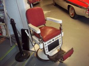 Chaise de barbier