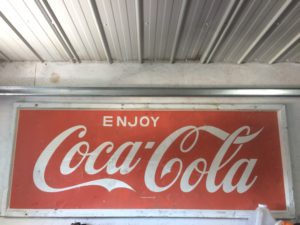 Enseigne Coca-Cola